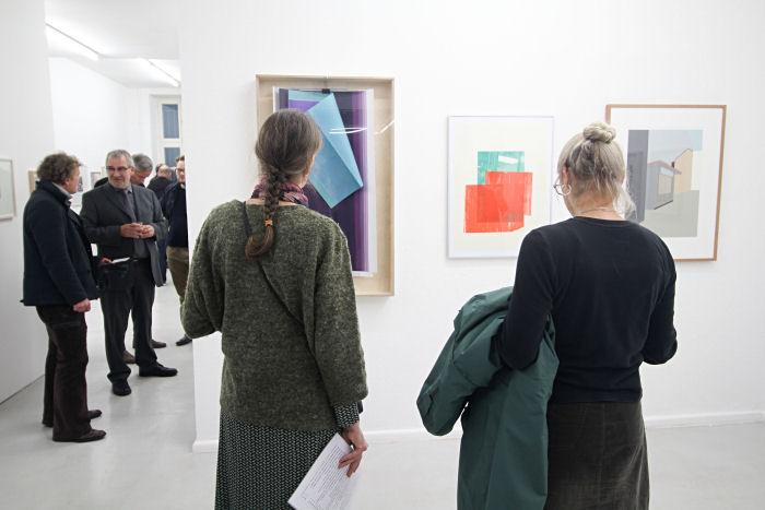 Galerie Zweigstelle, Eröffnung Paperwork